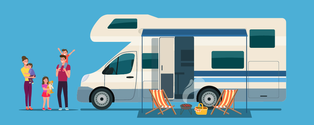 3 Benefits of Travelling in a Motorhome or in a Caravan