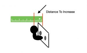 distance from lowball to Flange