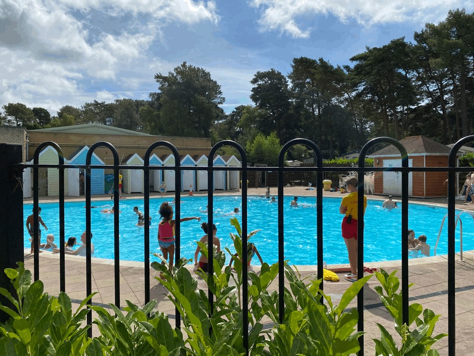 Sandford Holiday Park Outdoor Pool
